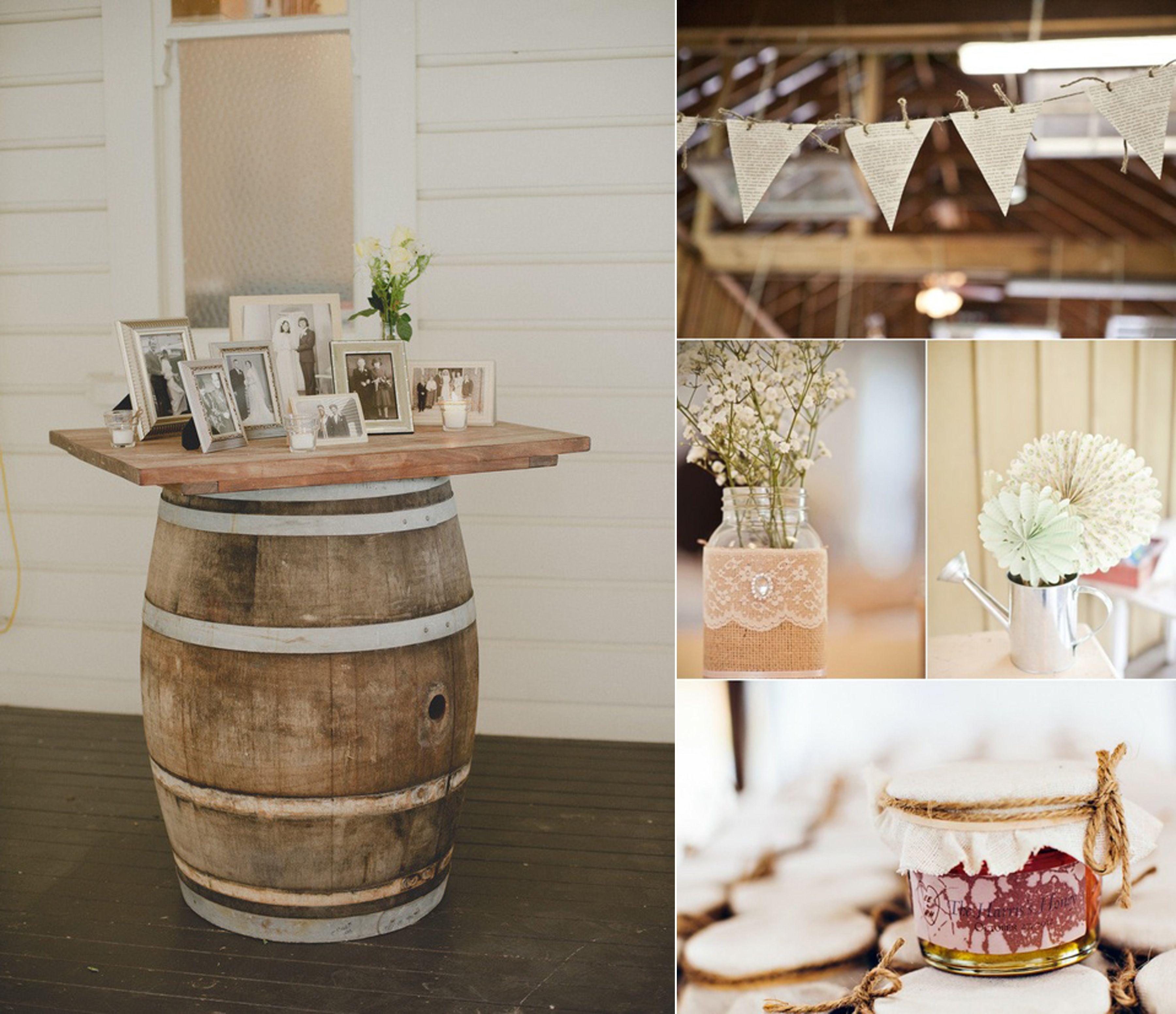 rustykalne dekoracje korek wino winiarnia slub wesele diy blog