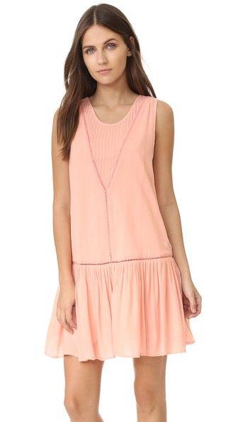 6b8b1a11bb MINKPINK Blushing Beach Drop Waist Dress Minkpink, Drop Waist, Blush Pink, Pink  Dress
