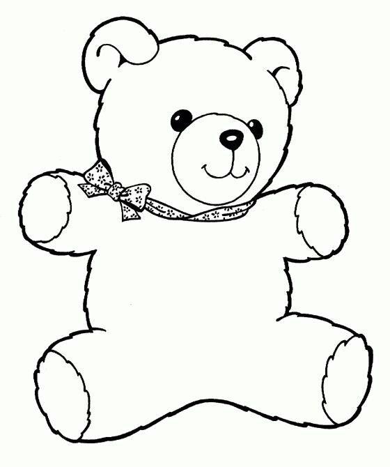 Teddy Bear Coloring Page Teddy Bear Coloring Pages Bear Coloring Pages Teddy Bear Crafts
