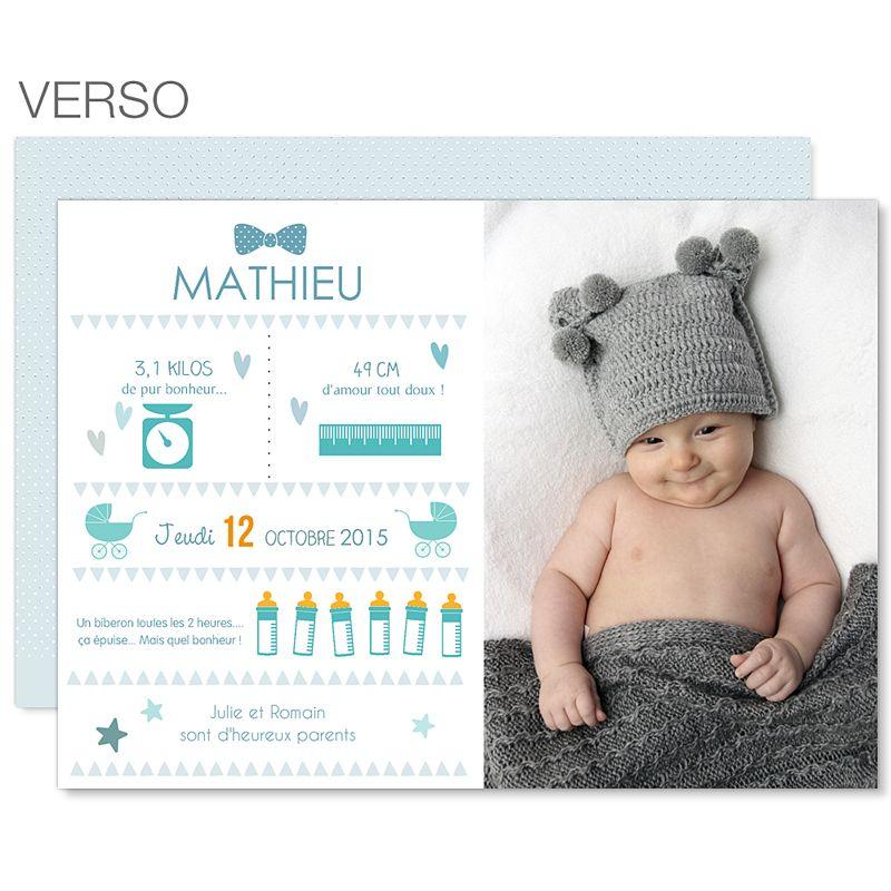 Célèbre faire part naissance original - Recherche Google | Baby  ME34
