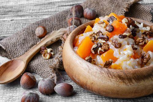 Pumpkin porridge with walnuts by nikolay_2002  IFTTT 500px