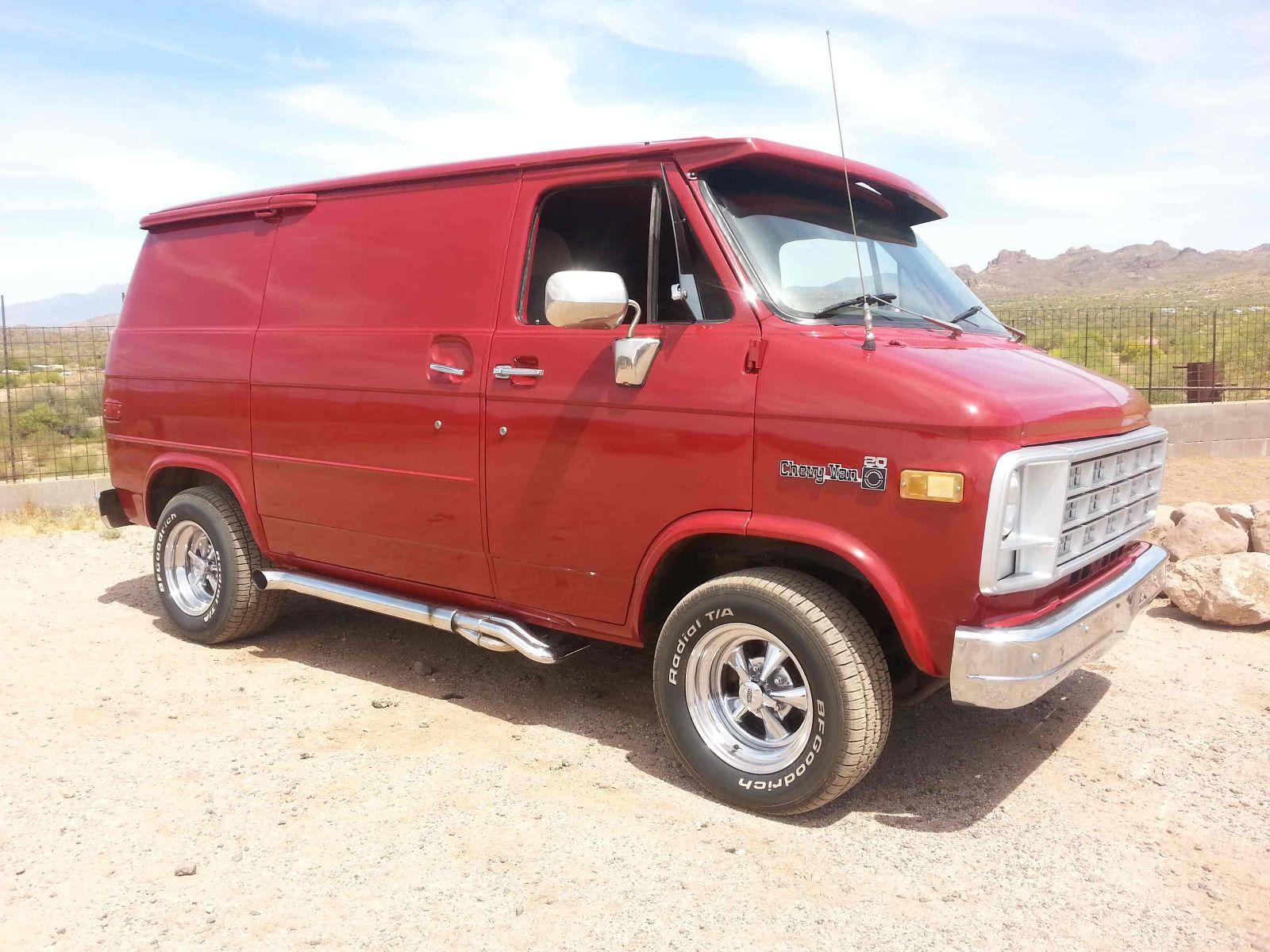 1982 Chevrolet G20 Van Van Chevy Van Custom Vans
