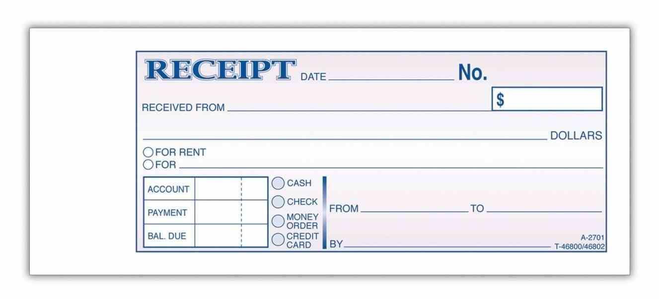 Blank Money Order Template Receipt Template Teaching Money Templates