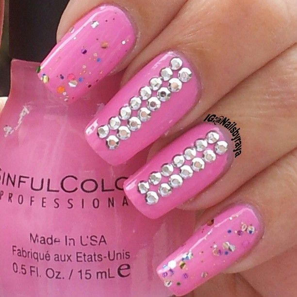 Beautifull pink by sinfull colors  @nailsbyraya