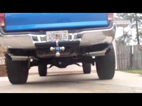 Toyota Tacoma True Dual Exhaust  YouTube  Cool Tacoma Trucks