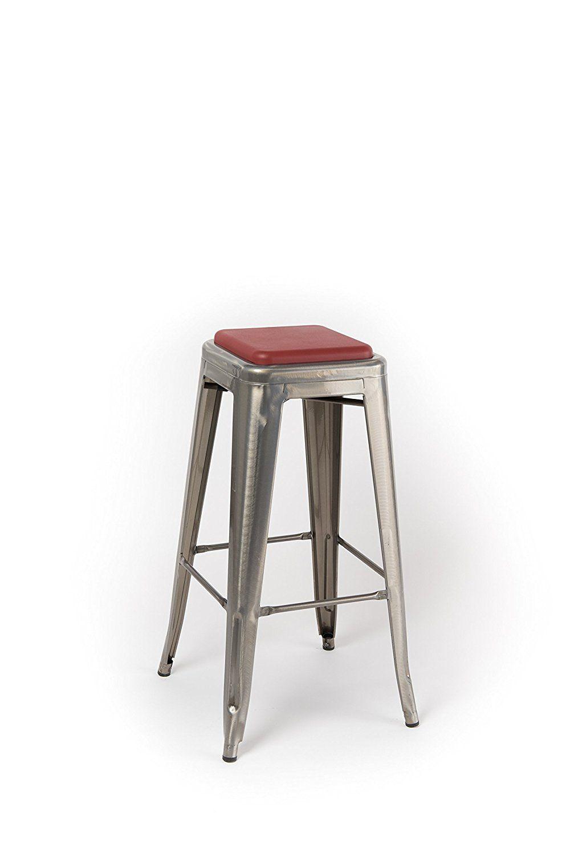 Swell Amazon Com Square Seat Cushion For Metal Bar Stools Or Beutiful Home Inspiration Aditmahrainfo