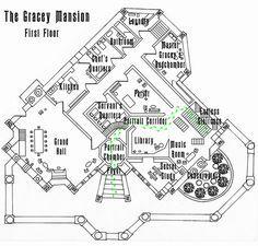Haunted Mansion First Floor Plan Wip By Shadowdion On Deviantart Haunted Mansion Decor Disney Haunted Mansion Mansions