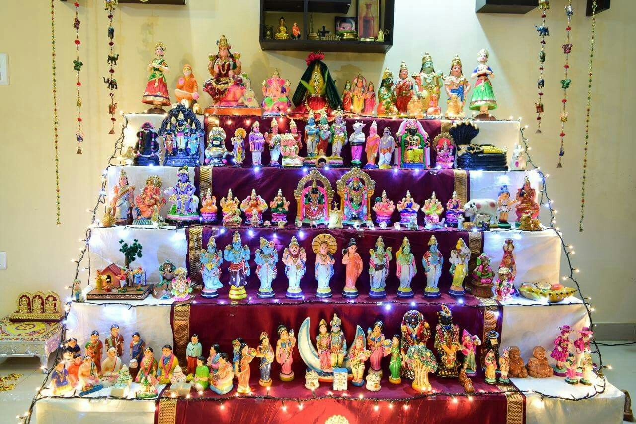 Pin by Sprsksndan on Dasara dolls (With images) | Pooja ...