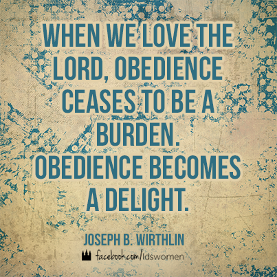 Image result for Mormon obedience