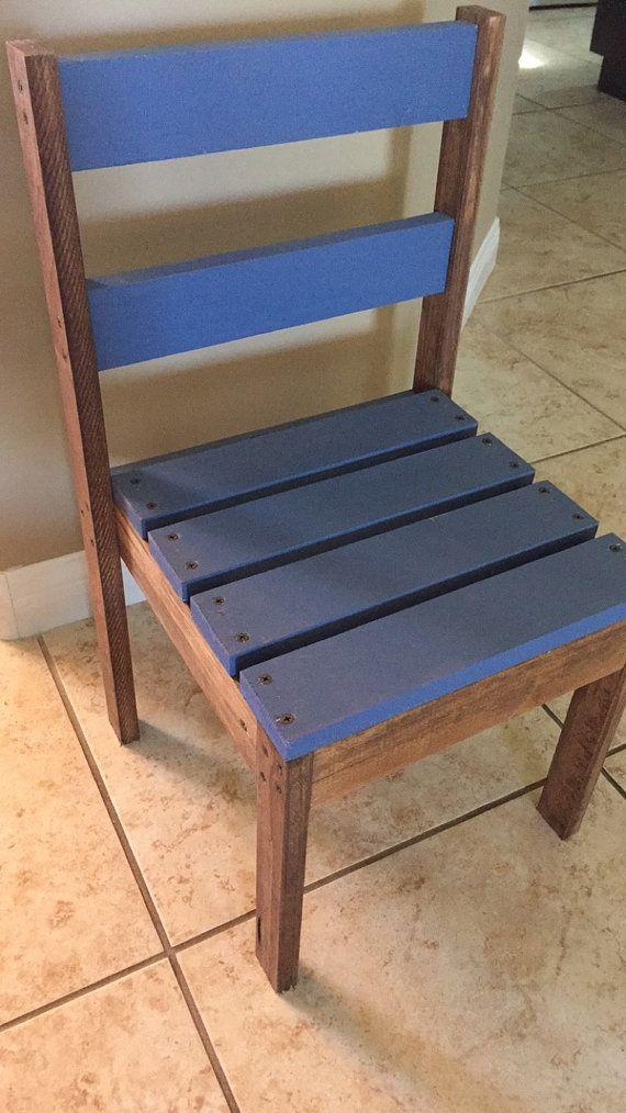 Silla de madera del cabrito por BuildYourFun en Etsy | comedor ...