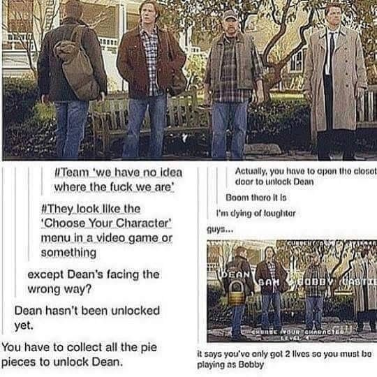 This is fucking hilarious. For once Misha is not the odd man out. He's probably so proud of this. But Jensen..... #SPN #J2M #SPNfamily #mooseandsquirrelandwings #Winchesters #cuties