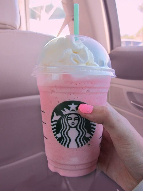 Its Called The Cotton Candy Frappichino If They Dont Know How To Make Itthen Ask For A Vanilla Bean With Raspberry Syrup