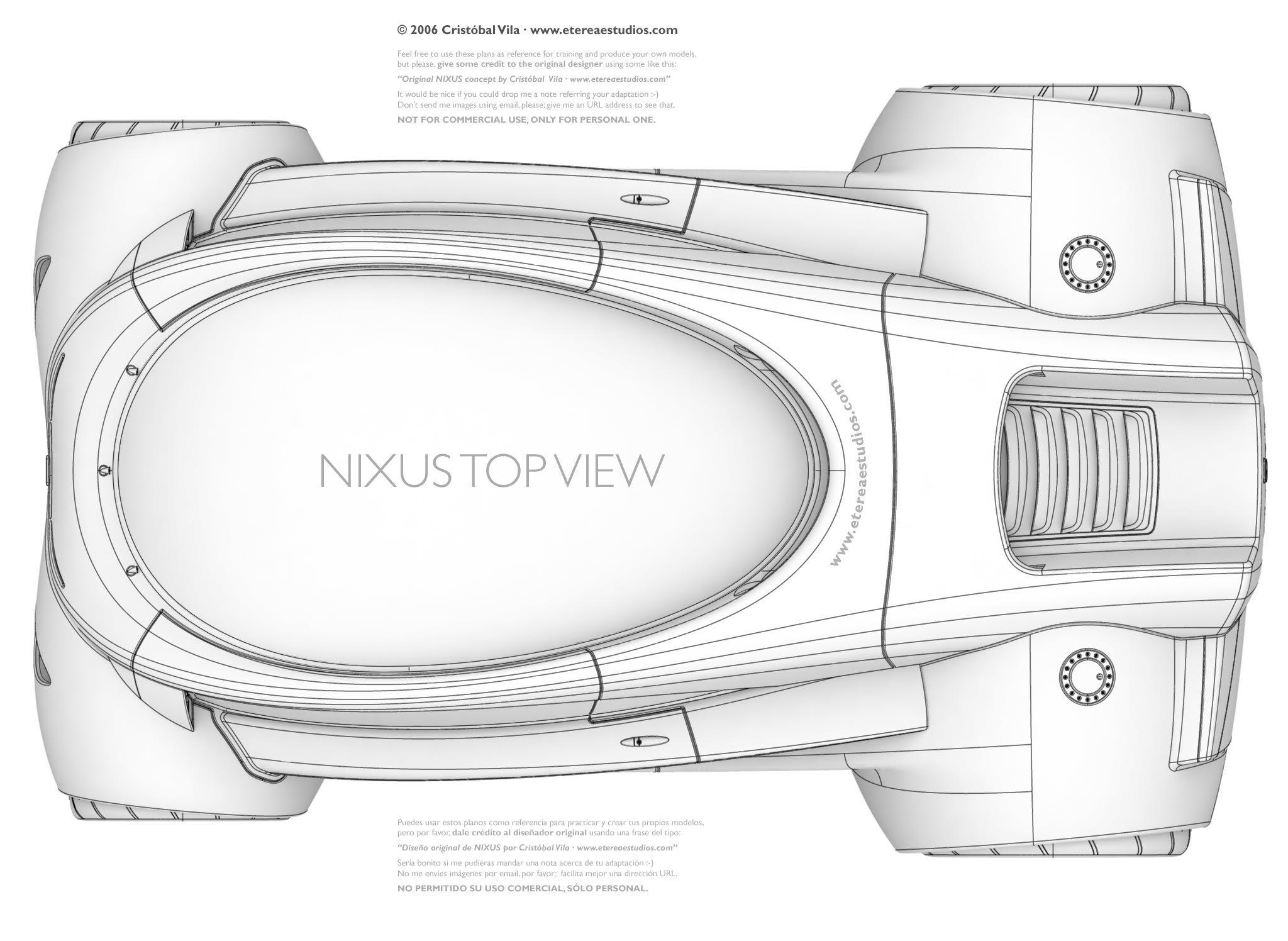 Nixus top view | Blueprint | Pinterest | Online portfolio