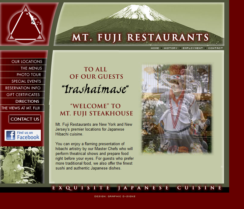 Mt. Fuji Website Photo tour, Fuji, Home history