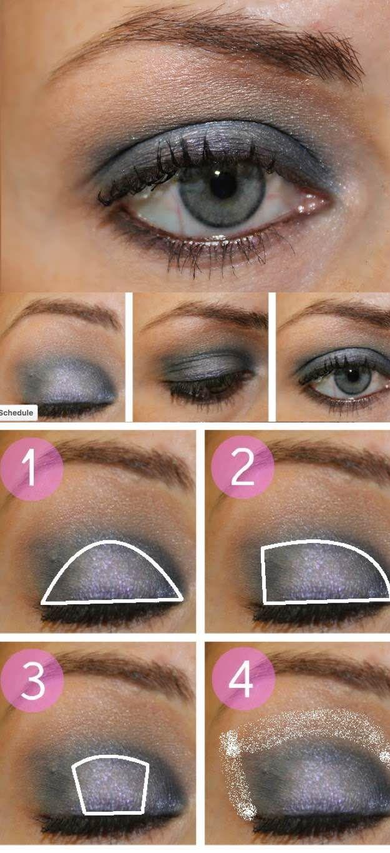 33 best makeup tutorials for blue eyes blue eye makeup natural makeup tutorials for blue eyes eye makeup tutorial step by step easy baditri Gallery