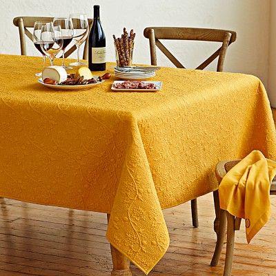 Charming Vine Floral Boutis Tablecloth #WilliamsSonoma