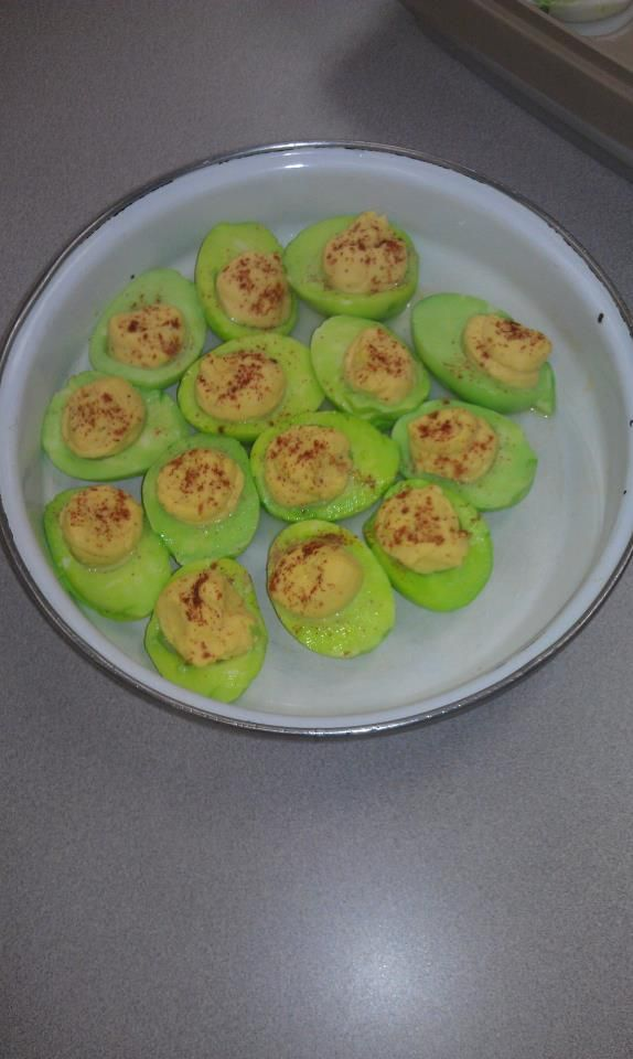 St. Patty's Eggs at meeting