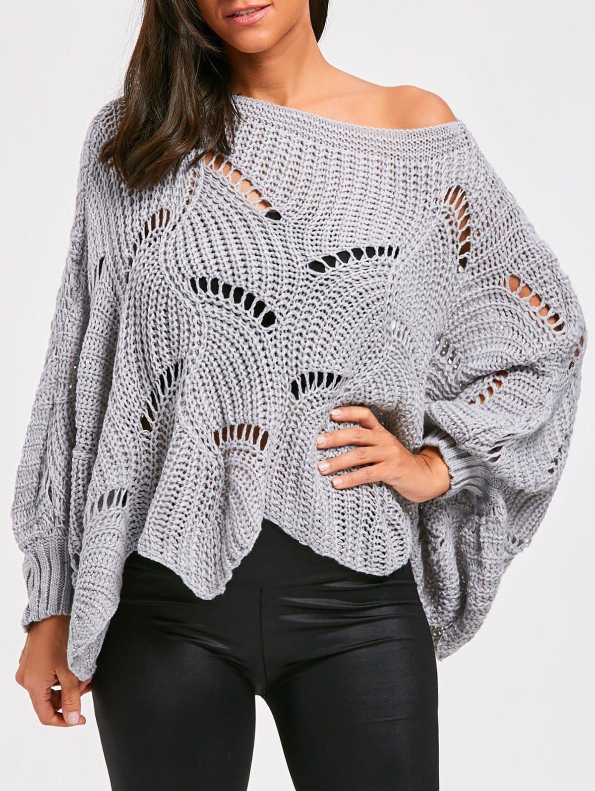 свитер вязаный крючком фото и схема улице