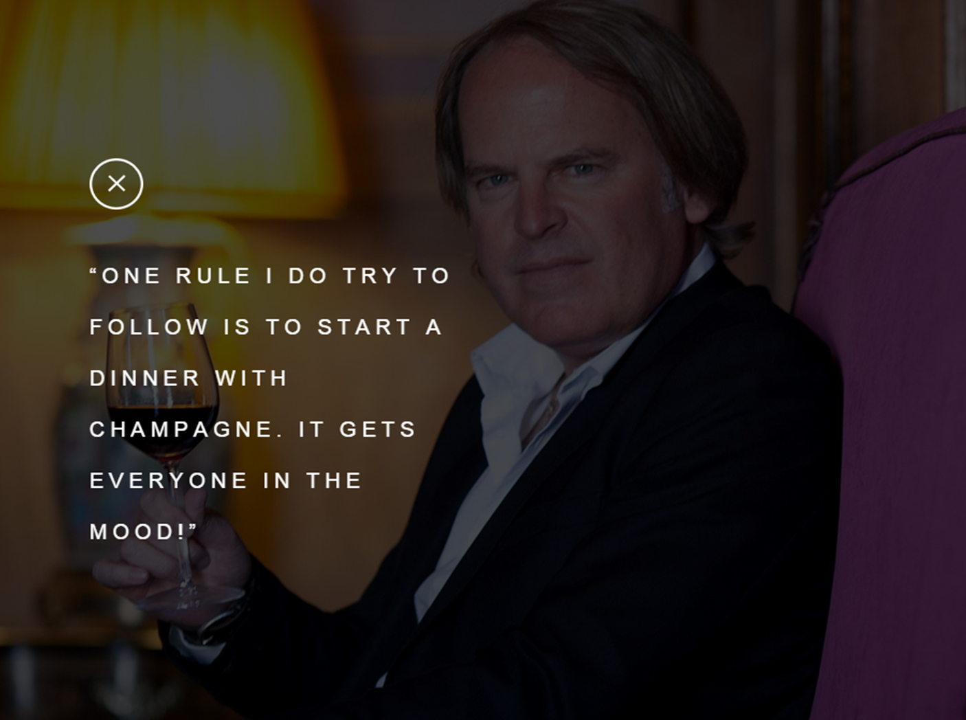 James Suckling talks about Champagne !