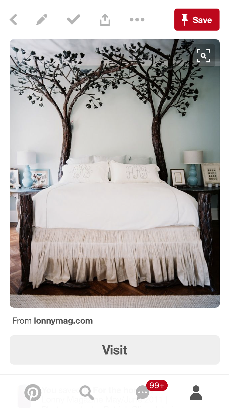 Pin By Casey Webb On Dream Home Home Insp Romantic Bedroom Tree Bed Bedroom Photos