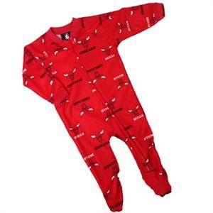 Chicago Bulls Infant Logo Sleeper #baby #kids #bulls