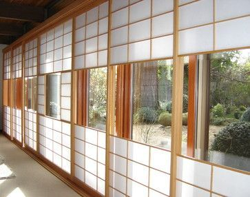 Asian soji screens