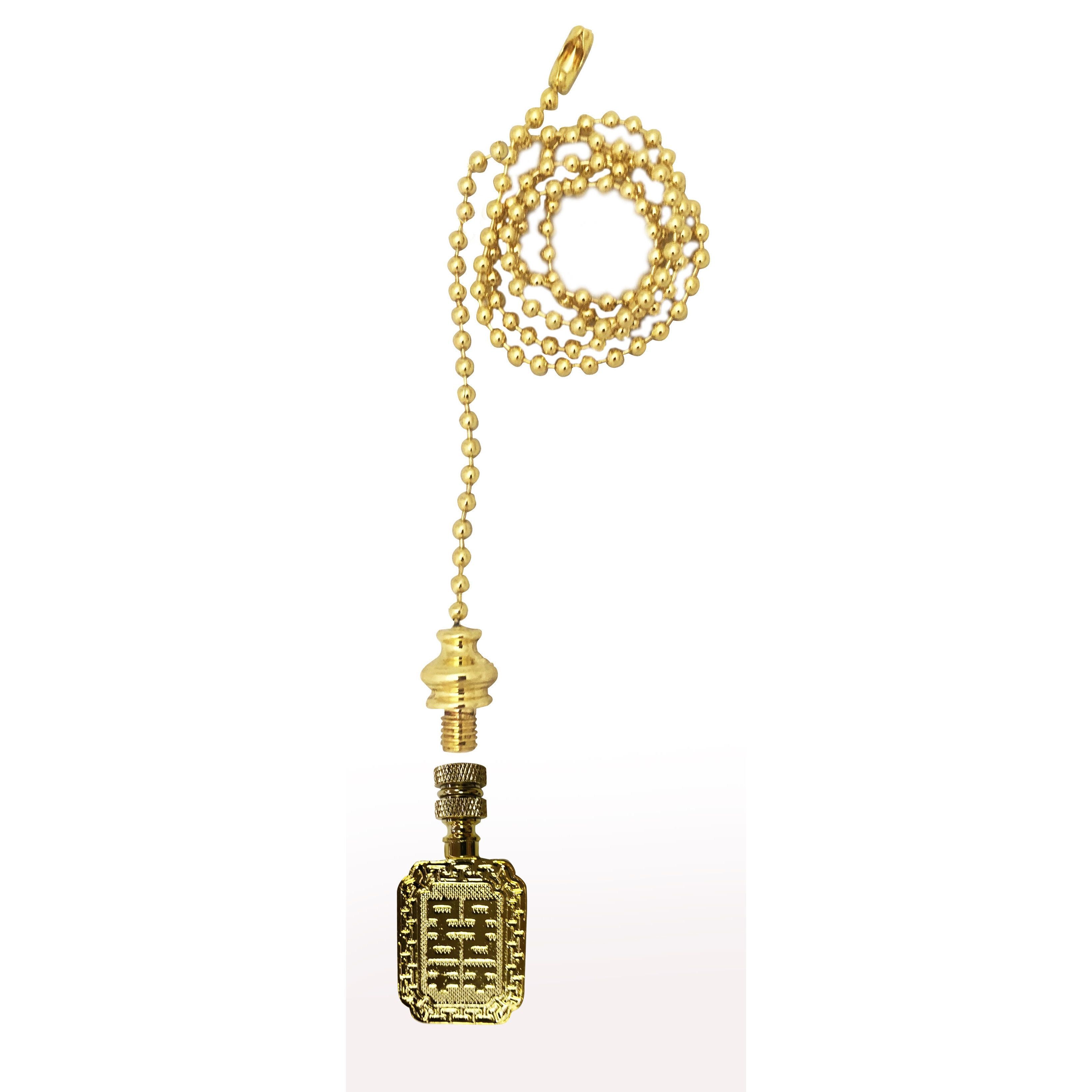 Royal designs fan pull chain with chinese joy symbol finial royal designs fan pull chain with chinese joy symbol finial polished biocorpaavc Images