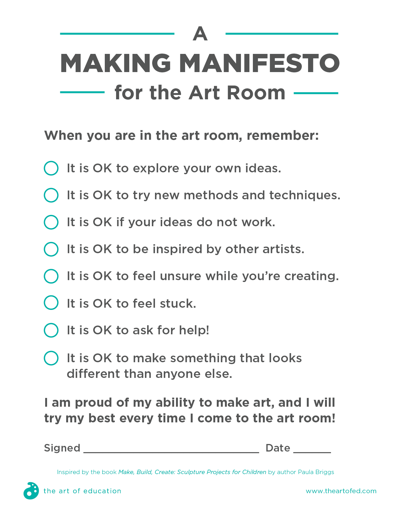 A Making Manifesto To Help Your Students Take More Risks