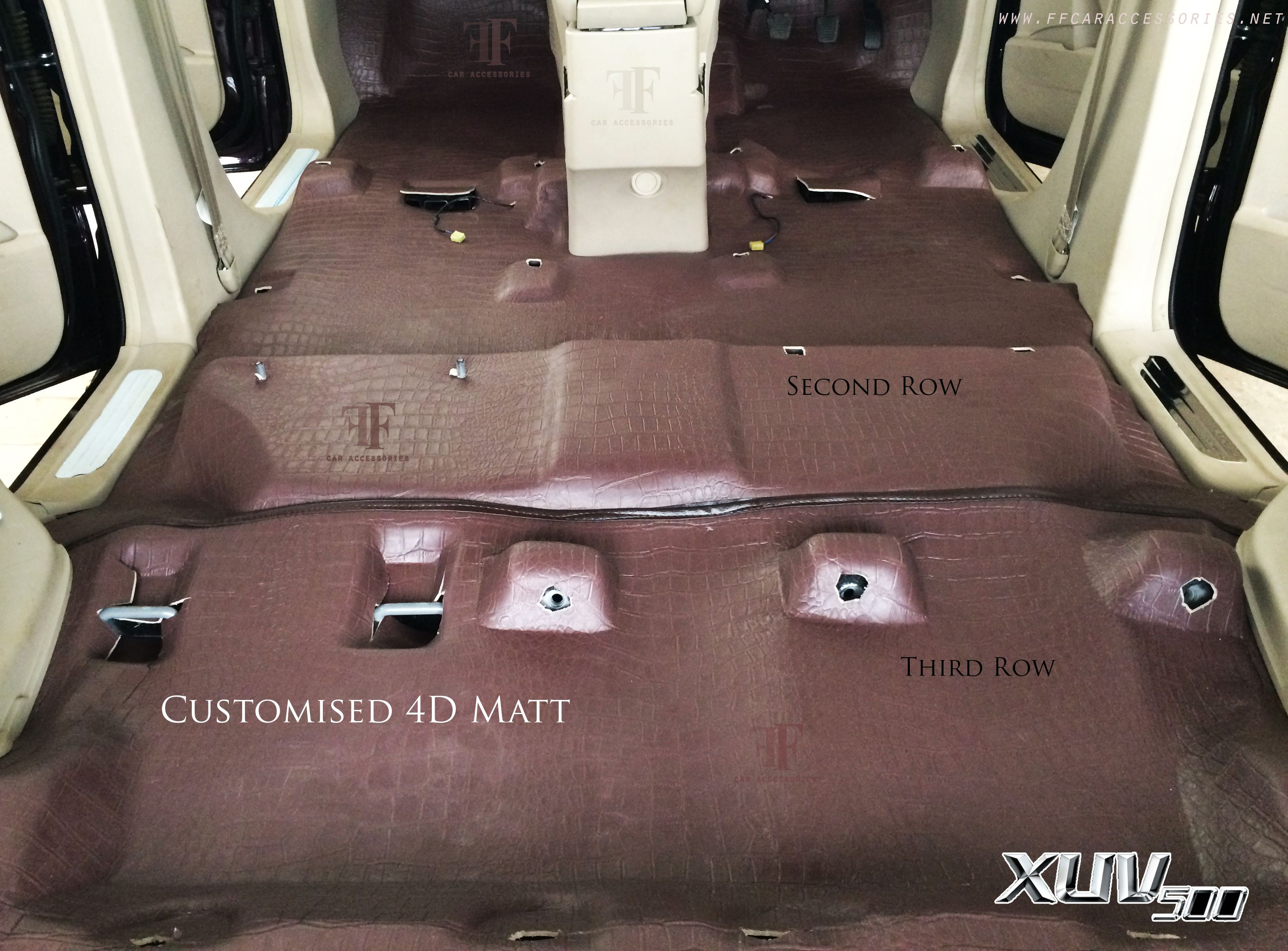 Second Row Third Row View From Top Angle Xuv 500 Car Accessories Carseat Cover Car Seats