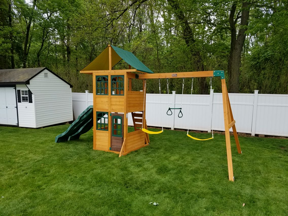 5 10 treasure cove play set delivered and assembled in north