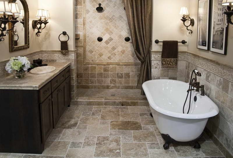 Bathroom Remodeling Design Simple Bathroom Tile Designs For Small Bathrooms With Brown