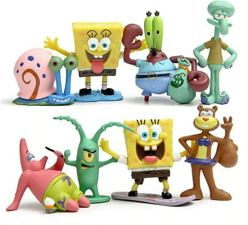 Spongebob Patrick Star Model Action Figure Toys Doll Animation