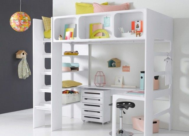 un lit mezzanine pour gagner de la place mezzanine lit mezzanine enfant et mezzanine enfant. Black Bedroom Furniture Sets. Home Design Ideas