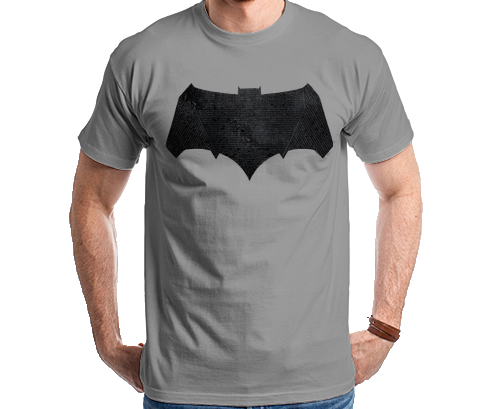 Batman Vs Superman - Batman Logo Relevo Camiseta Camisa