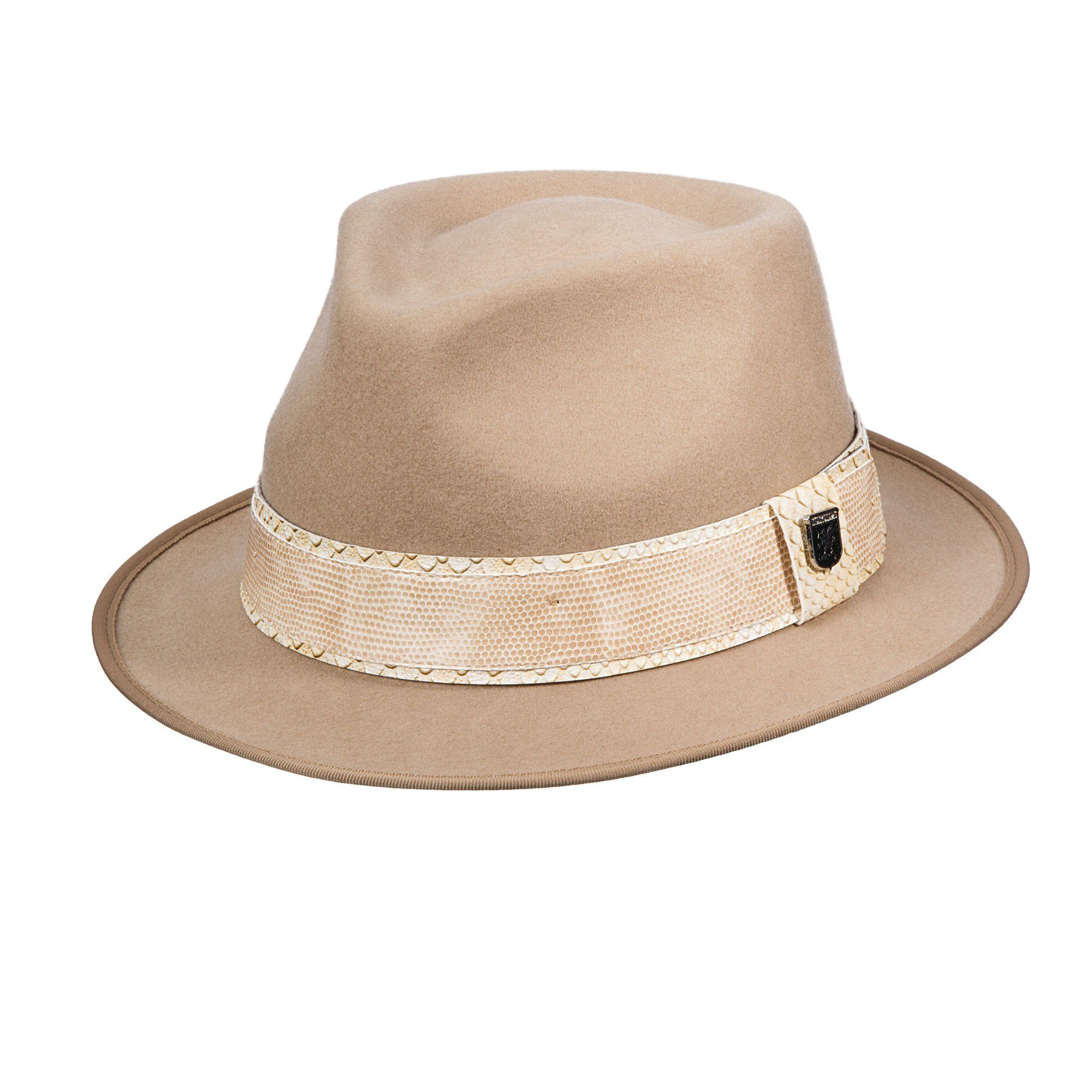 8dcdaac7f7171 Lower pitch crushable wool felt hat. 2 1 8