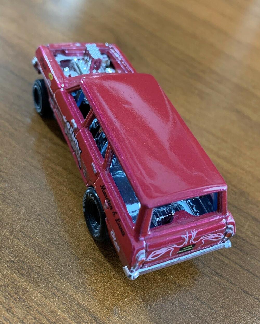 2020 Hot Wheels Custom Candy Striper '64 Nova Wagon Gasser