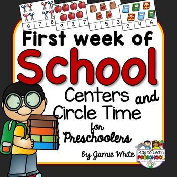 School Circle Time Unit  #Circle #School #Time #Unit