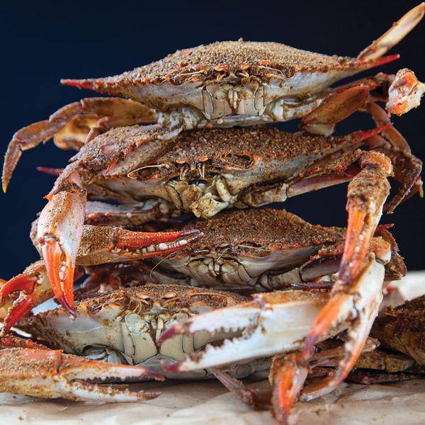 Steamed Blue Crabs Recipe Recipes Crab Recipes Blue