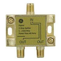 G.E. Digital 2 Way Video Splitter (87623)