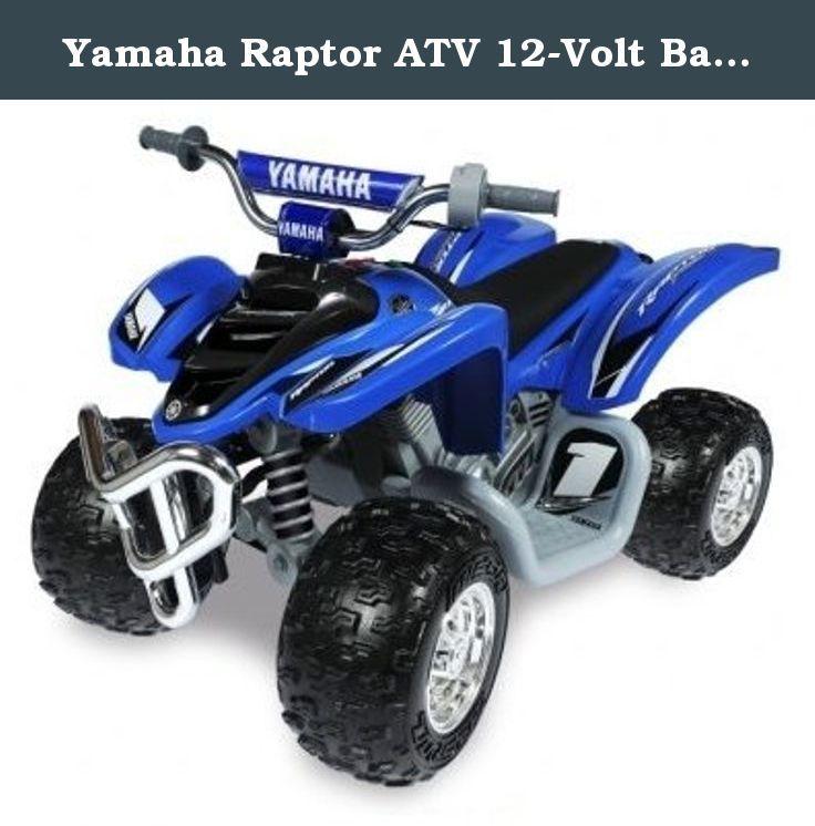 Yamaha Kids Atv >> Yamaha Raptor Atv 12 Volt Battery Powered Ride On Blue