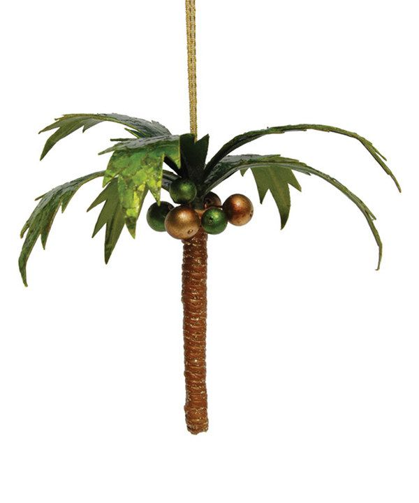 Look at this Palm Tree Ornament on #zulily today! (With ...