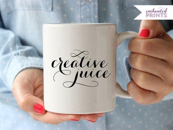 Creative Juice Coffee/Tea Mug for creatives, artists, and designers!
