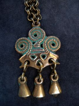 Bronz pendent from Finland Kalevala Koru. soon in the shop