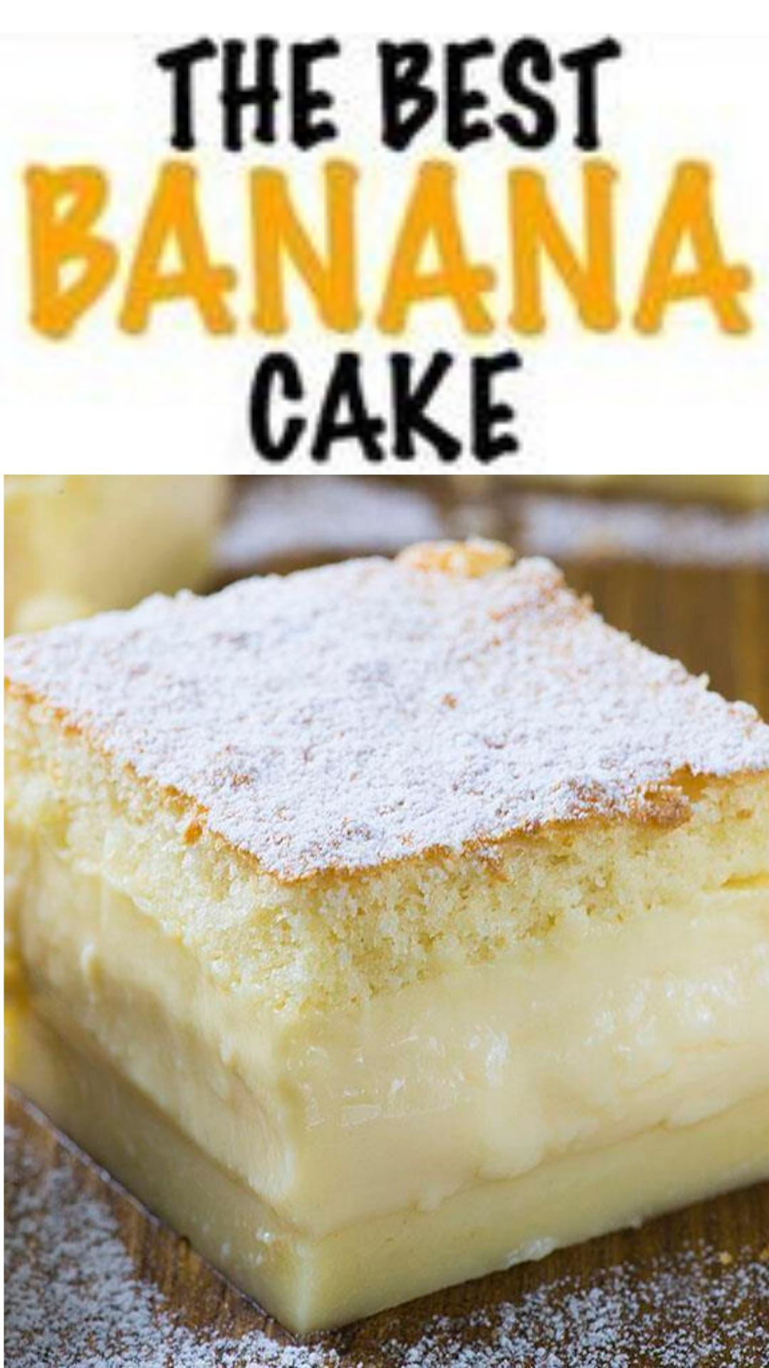 Photo of easy banana cake recipe