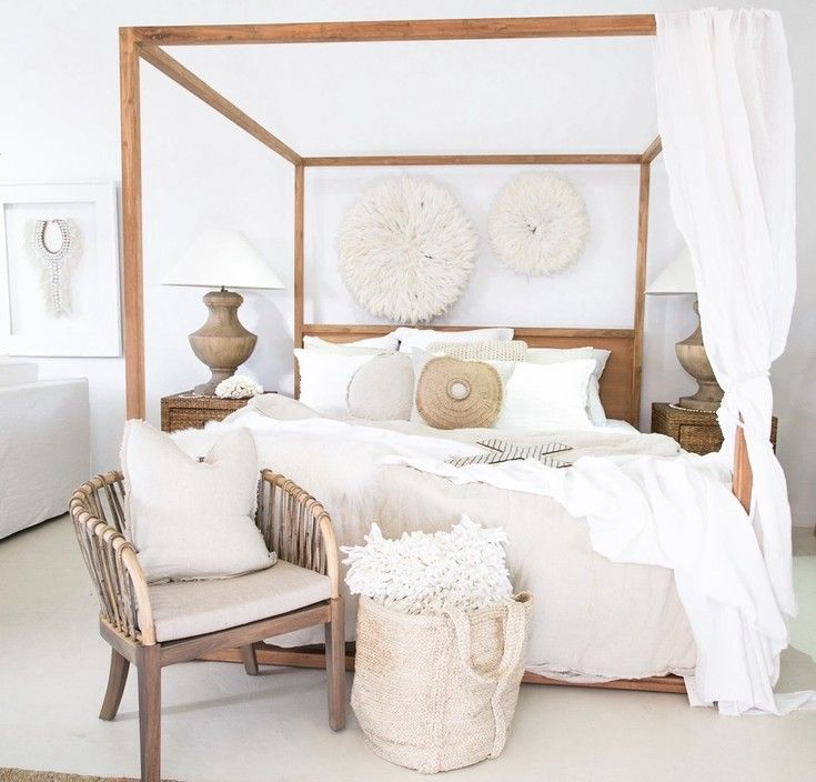 Strand 4 poster bed with malawi chair uniqwa furniture bedroom pinterest - Poster camera da letto ...