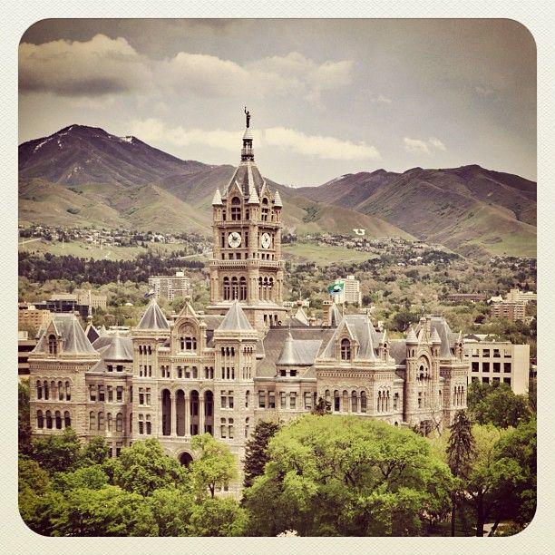 Places To Live Salt Lake City: SALT LAKE CITY, UTAH: Council Building