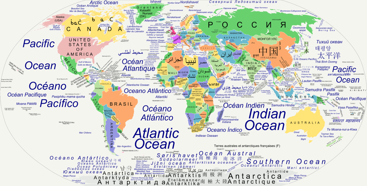 Native country names the mapinfographic wall pinterest language country names in their official languages more szwab includes de facto official languages for countries that dont have an official language gumiabroncs Image collections
