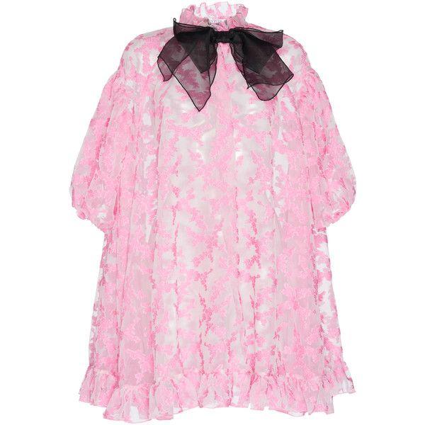 Vivetta Vindamiatrix Hood Dress ($1,625) ❤ liked on Polyvore featuring dresses