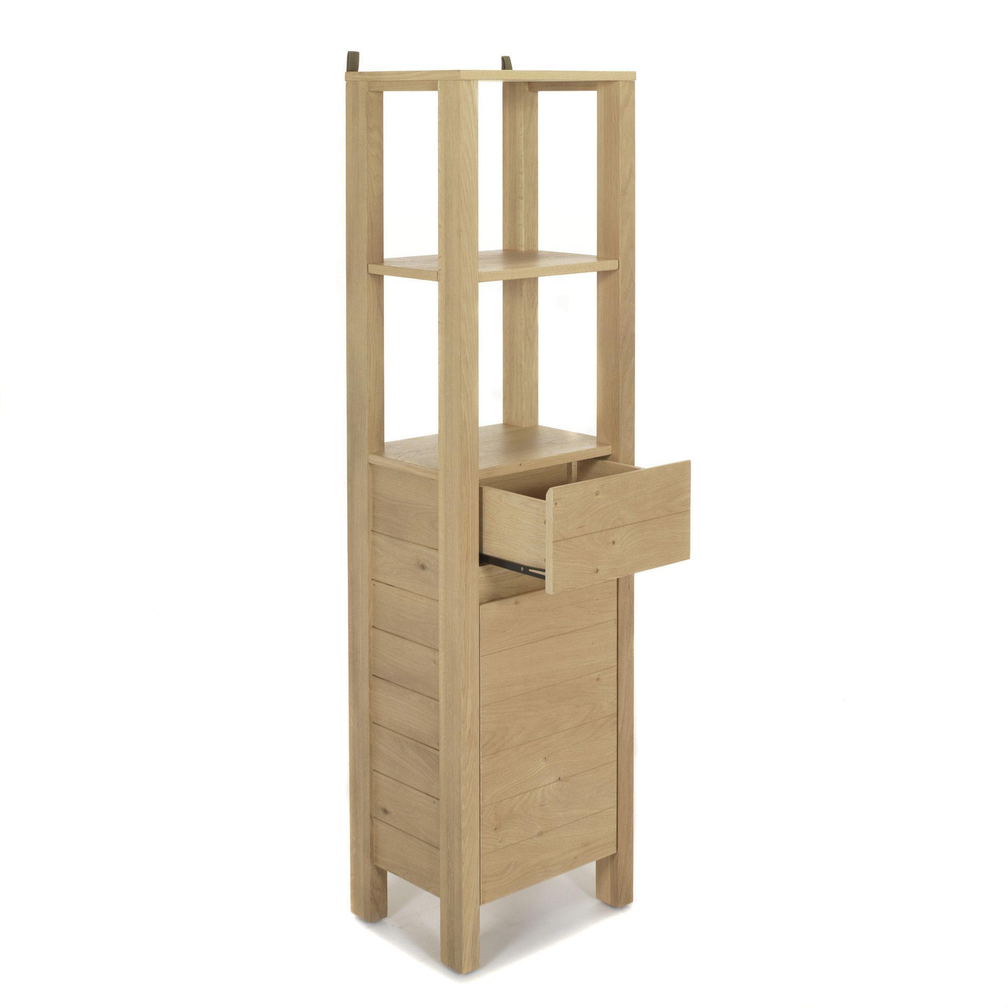 Native colonne de rangement alin a et meubles de salle for Colonne de separation et de rangement pour salle de bain