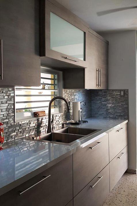 Gabinetes de cocina en pvc modernos y a la medida for Gabinetes de cocina modernos